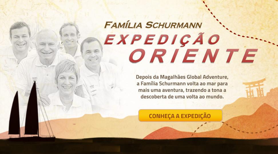 Família Schurmann Institucional - Expedição Oriente