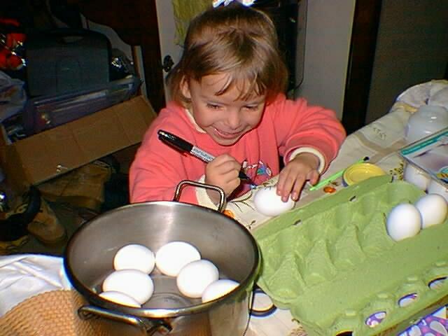 CD 65 Marcando ovos cozidos